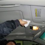 車内環境施工事例(レクサス認定中古車)