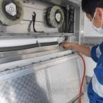 冷凍車 庫内消臭施工